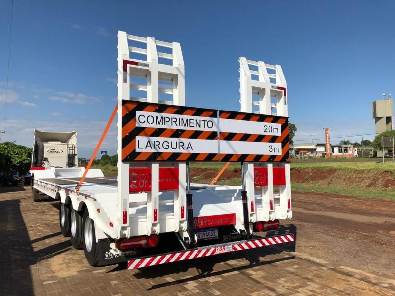 Empresa de Semi Reboque Carrega Tudo Foz do Iguaçu - Semi Reboque Prancha 2 Eixos
