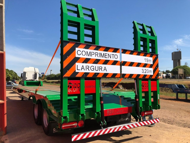 Fábrica de Prancha Agrícola para Truck Sinop - Prancha Agrícola 3 Eixos