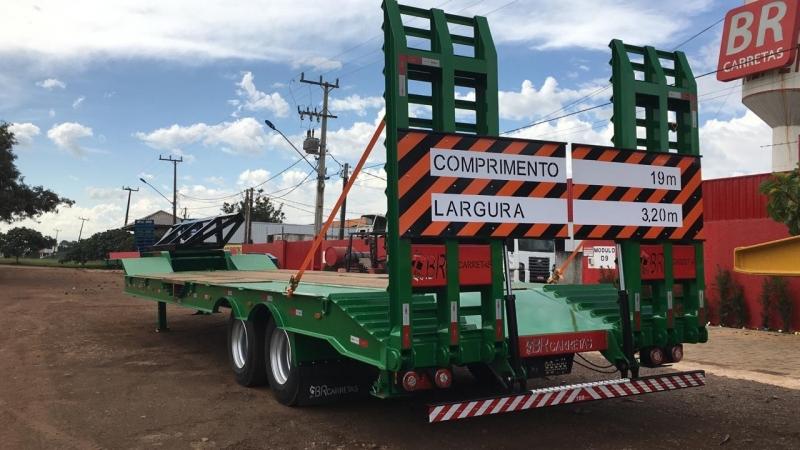 Prancha Agrícola de Truck à Venda Chapadão do Céu - Prancha Agrícola