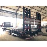 caminhão prancha truck preços CAFELANDIA
