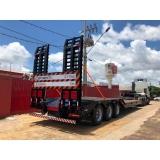 prancha 3 eixos rebaixada à venda Maracaju