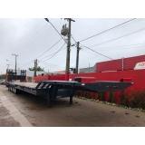 prancha 4 eixos para caminhão Anápolis