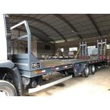 prancha caminhão truck à venda Bragança