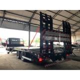 prancha fixa para caminhão truck Araraquara