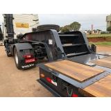 prancha rebaixada para caminhão à venda Terra Roxa